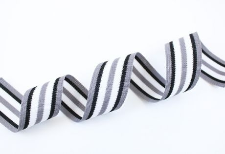 RETROSTRIPES - Grau schwarz & dunkelgrau