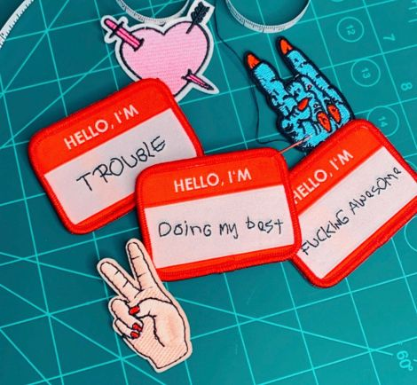 Badge Patch - HELLO I'M... *choose your mood*