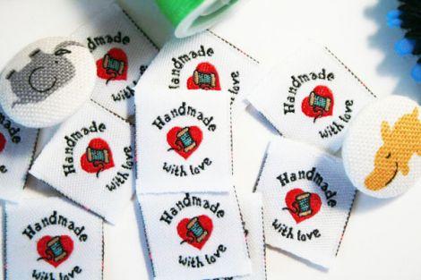 Handmade with Love Labels Etiketten