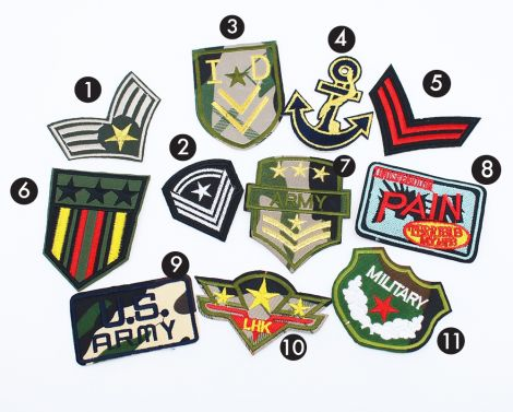 FUNKY Patches - ARMY OF ME PATCHES