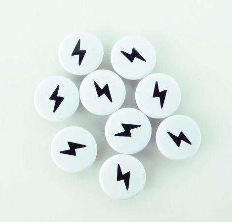Wundersnaps! - Blitz - Schwarz - 10er Set