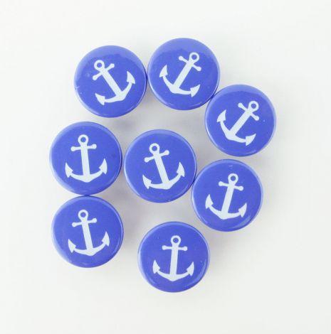 Wundersnaps! - ANKER - Blau-Weiß -10er Set