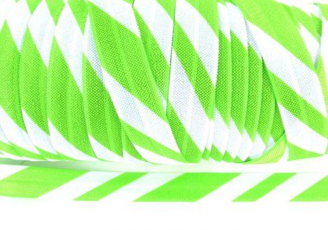 3 m Falzgummi Zuckerstange grün