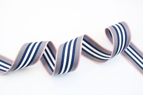 GATSBYS - THICKIES  - Babypink grau navyblau&weiß