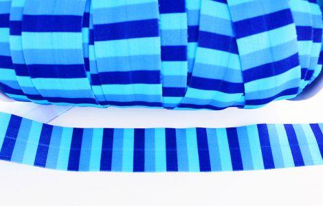 2m XXL Einfassband - STRIPES - Blue vibes