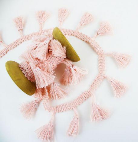 BOHO QUASTEN - Uni - Pretty Pink