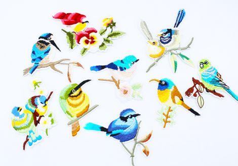 Birdie Patch - Verschiedenen Styles