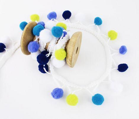 CANDY POMPONS - Blueäpples