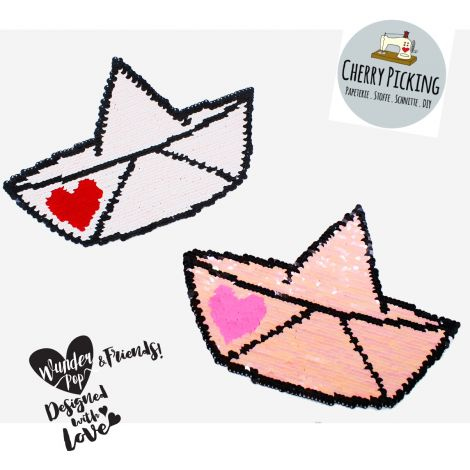XXL WENDEPAILETTEN PATCH -  CHERRY PICKING - LOVE BOAT!
