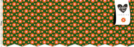 WUNDERPOP® EXKLUSIVE BIOSTOFFE - Flowa Powa cute green (*Vorbestellung)