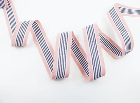 GATSBY - FINES - grau.rosa.weiß