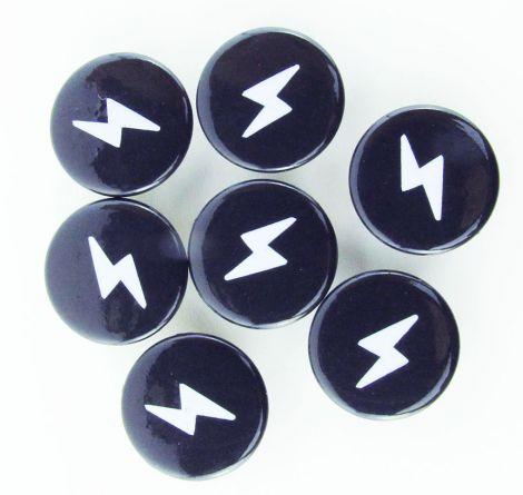 Wundersnaps! - Blitz - Schwarz-Weiß - 10er Set