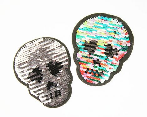 WENDEPAILETTEN PATCHES - SKULLY LOVE RAINBOW