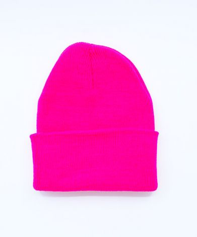 HIPSTER BEANIES - NEON PINK