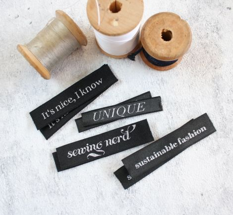 HANDMADE LABELS SET - UNIQUE